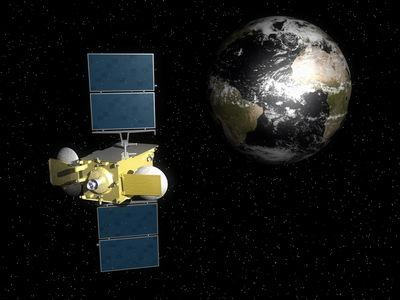 HYLAS-1 kommunikations satelit
