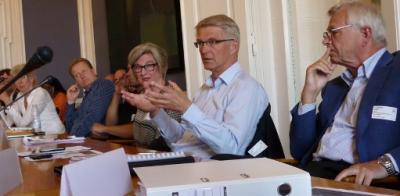 ekspertpanel diskuterede på konferencen blandt andet barrierer for telemedicin.
